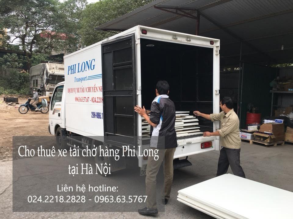 Cho thuê xe tải giá rẻ tại phố Trần Khát Chân