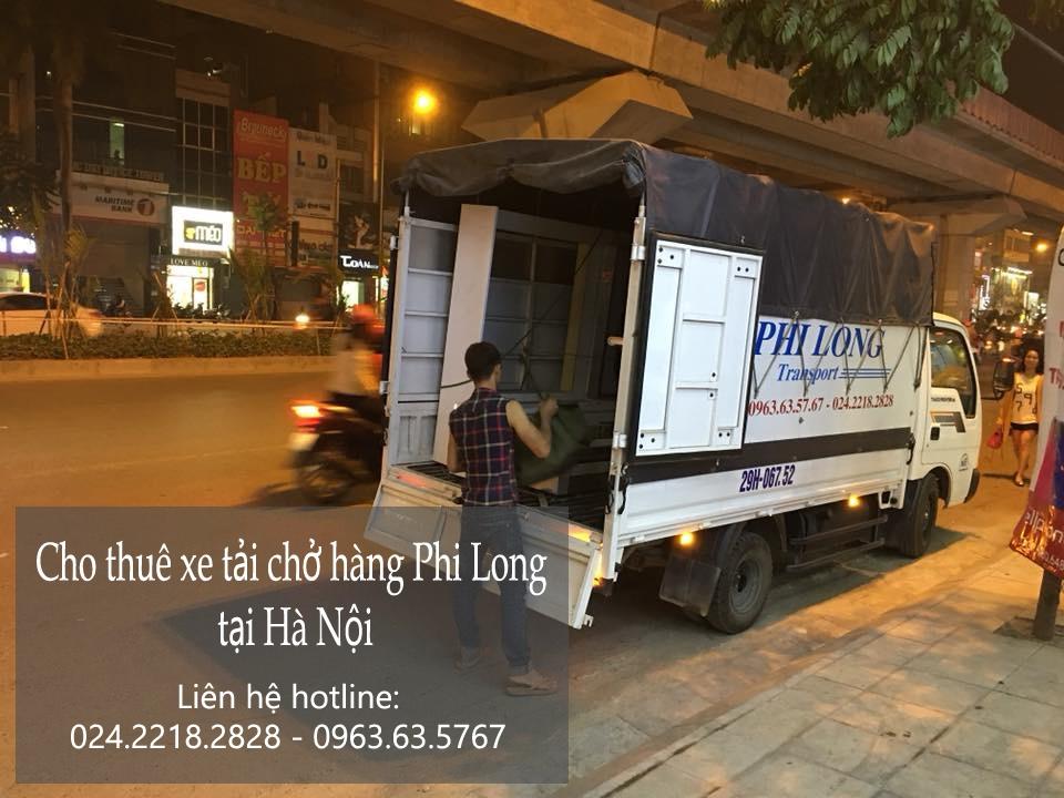Cho thuê xe tải giá rẻ tại phố Bùi Xương Trạch