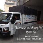 Cho thuê xe tải giá rẻ tải tại phố Vũ Hữu Lợi