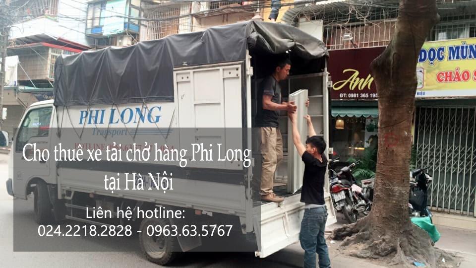Dịch vụ cho thuê xe tải giá rẻ tại phố Trịnh Hoài Đức