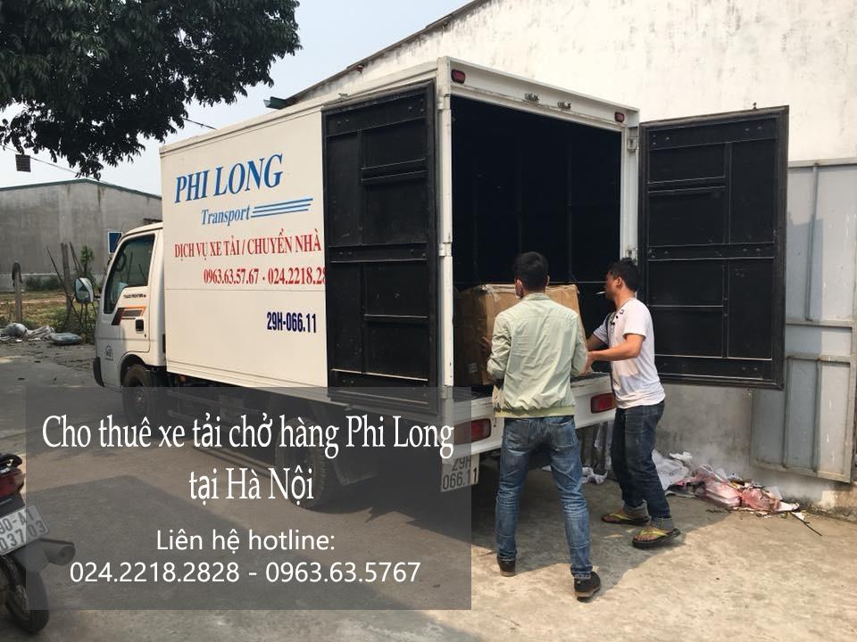 Dịch vụ cho thuê xe tải giá rẻ tại phố Trung Hòa