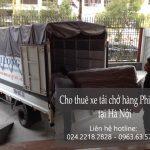 Dịch vụ cho thuê xe tải giá rẻ chuyên nghiệp tại phố Giảng Võ