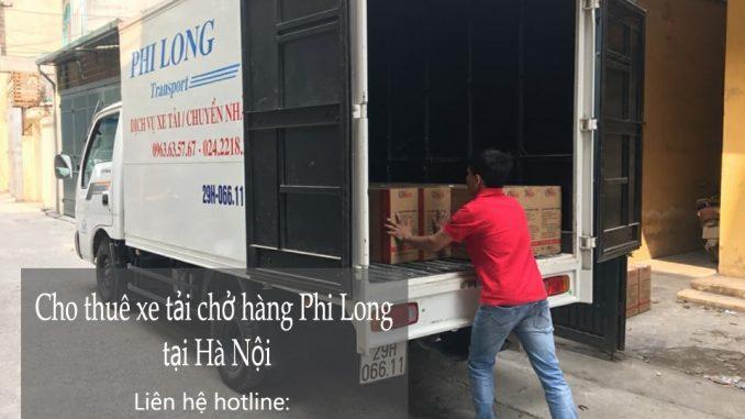 Dịch vụ thuê xe tải giá rẻ tại phố Trung Kính