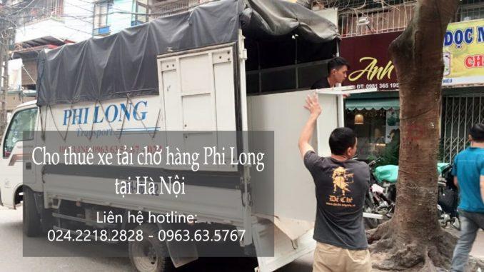 Dịch vụ thuê xe tải giá rẻ tại phố Lê Thánh Tông