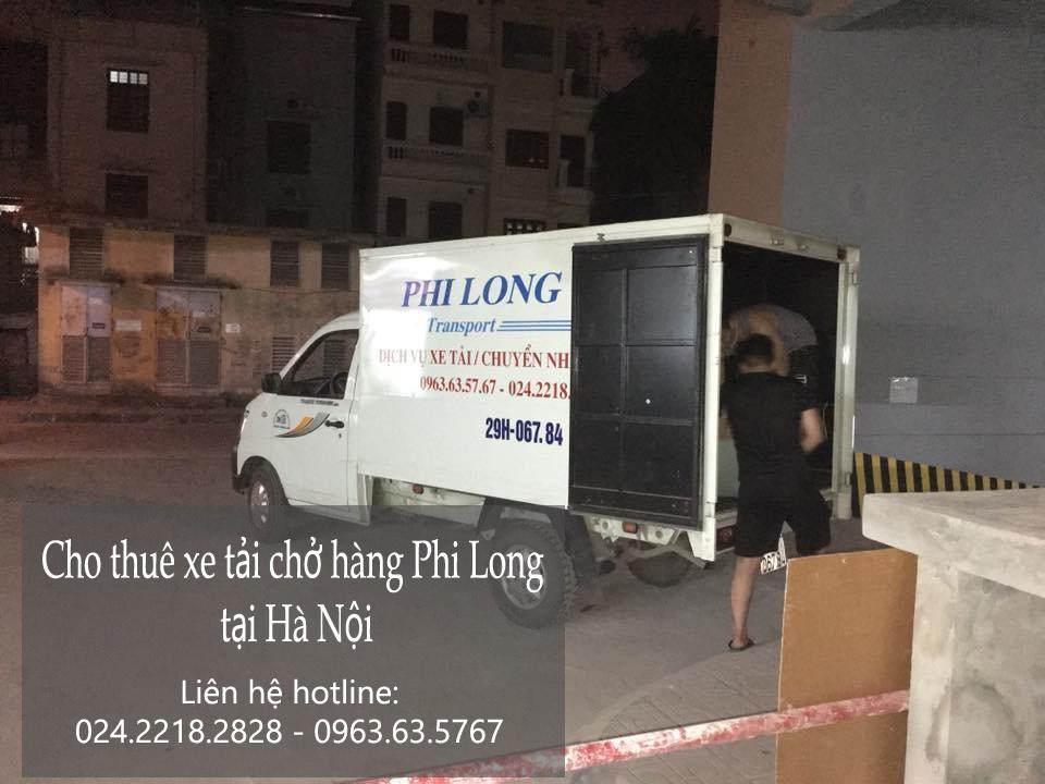 Dịch vụ thuê xe tải giá rẻ tại phố Nguyễn Phong Sắc