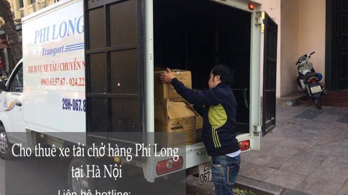 Dịch vụ xe tải giá rẻ tại phố Nguyễn Thượng Hiền