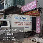 Dịch vụ cho thuê xe tải giá rẻ tại phố Thanh Bình