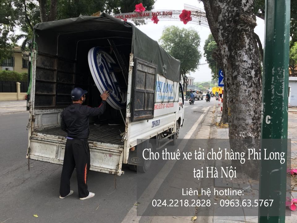 Dịch vụ thuê xe tải giá rẻ Phi Long tại phố Khương Thượng