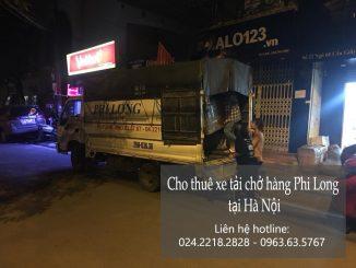 Cho thuê xe tải giá rẻ tại phố Tô Tịch