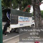 Dịch vụ thuê xe tải giá rẻ Phi Long tại phố Nguyễn Văn Ngọc