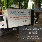 Dịch vụ thuê xe tải giá rẻ Phi Long tại phố Vương Thừa Vũ