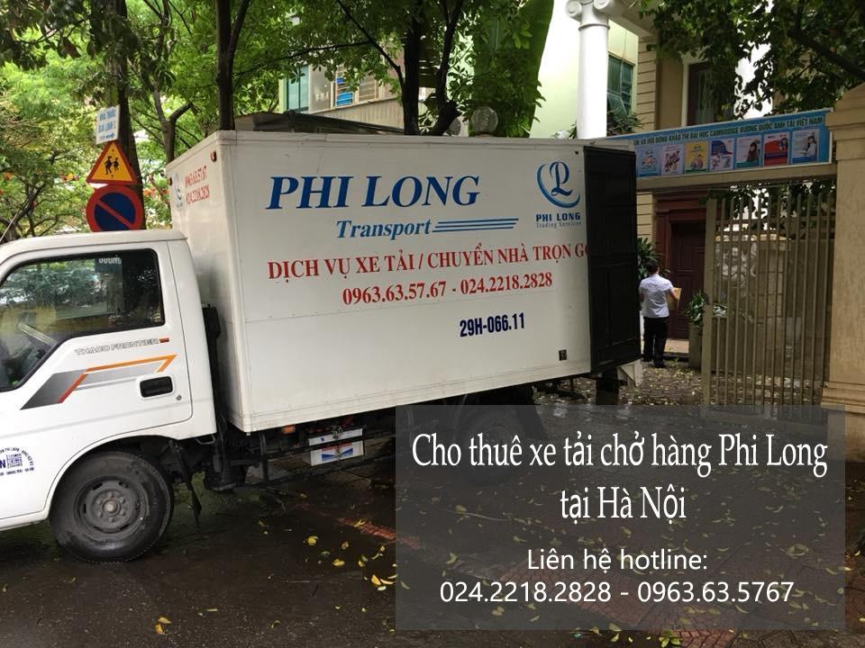 Xe tải chở hàng thuê giá rẻ tại phố Vũ Phạm Hàm