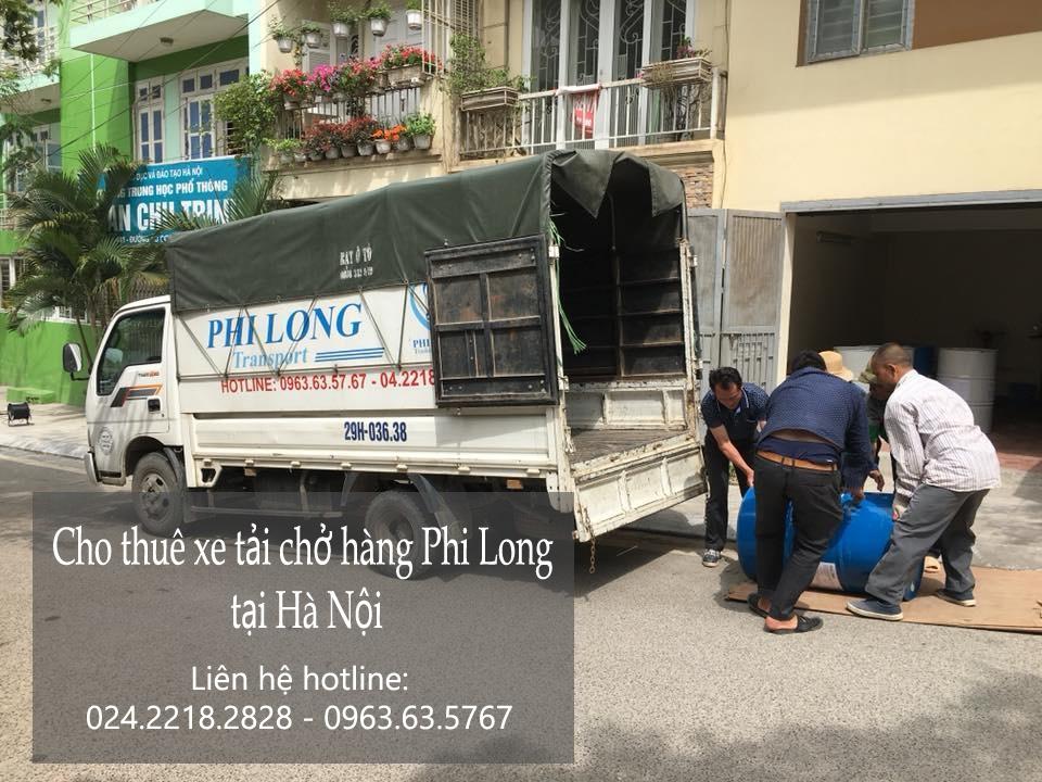 Dịch vụ thuê xe tải giá rẻ Phi Long tại đường Nguyễn Trãi