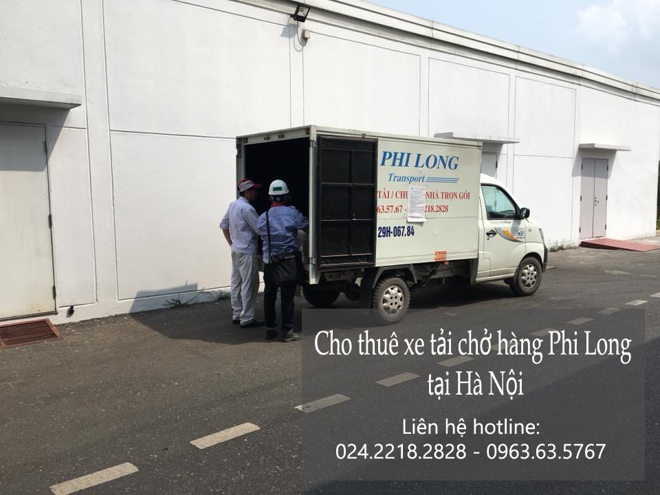 Dịch vụ thuê xe tải giá rẻ Phi Long tại phố Ô Chợ Dừa