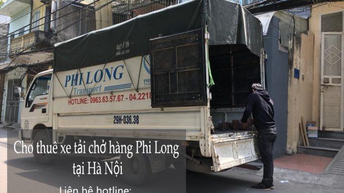 Dịch vụ cho thuê xe tải giá rẻ tại đường Trung Yên