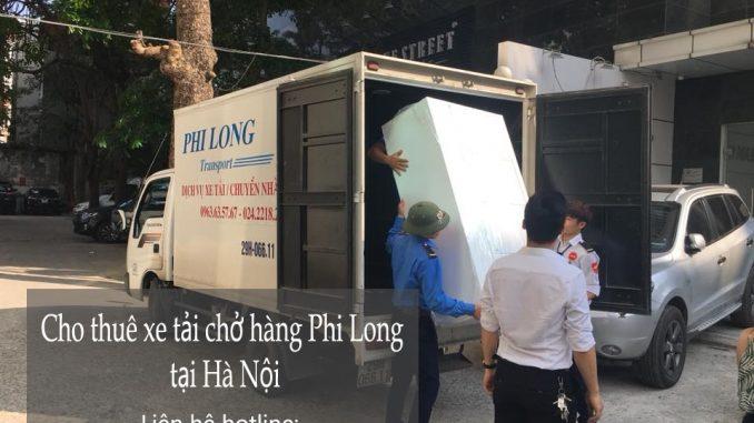 Xe tải chở hàng thuê giá rẻ tại phố Tạ Quang Bửu