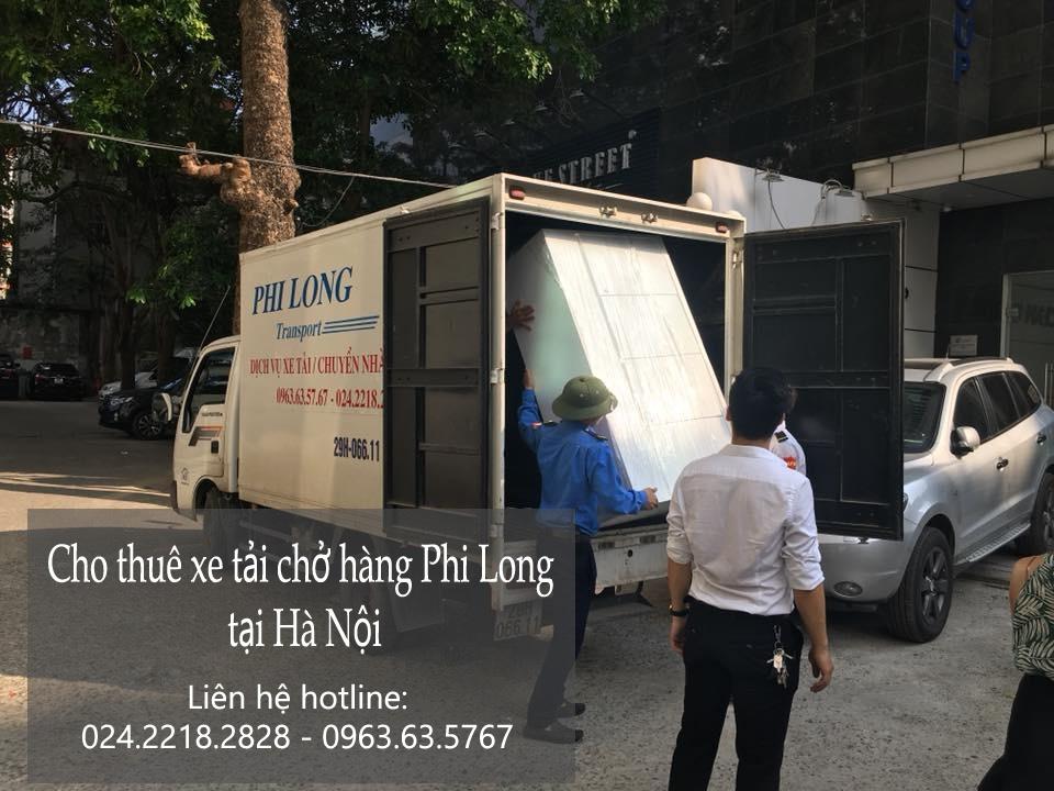 Dịch vụ xe tải giá rẻ tại phố Triệu Việt Vương