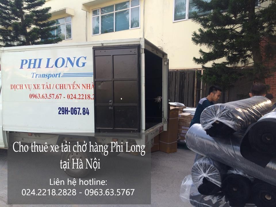 Dịch vụ thuê xe tải giá rẻ Phi Long tại phố Dương Khuê