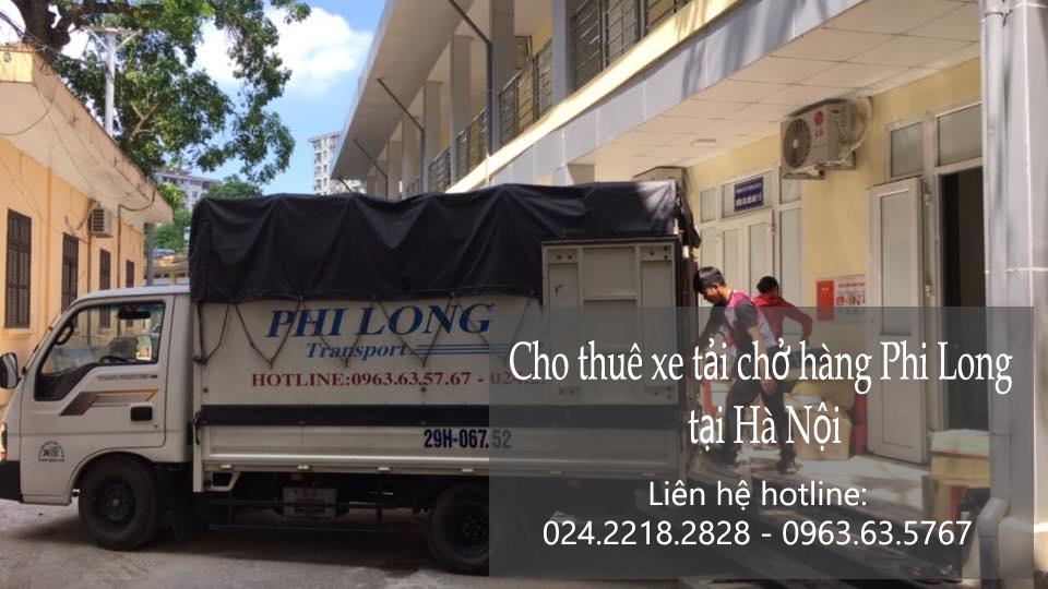 Thuê xe tải Hà Nội giá rẻ tại phố Ngô Thì Nhậm