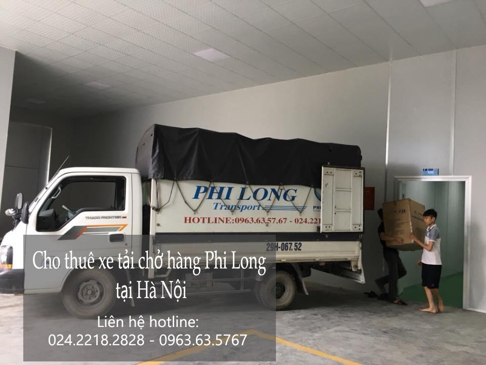 Thuê xe chuyển đồ chuyên nghiệp tại phố Mã Mây
