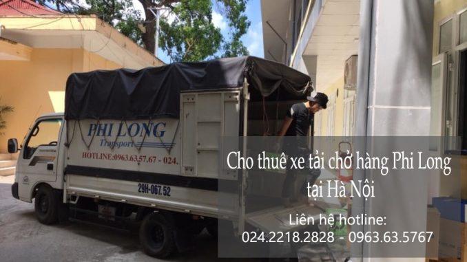 Cho thuê xe tải chở hàng giá rẻ tại phố Phan Huy Ích