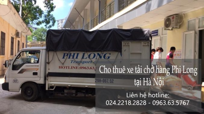 Thuê xe chuyển nhà giá rẻ tại phố Nghĩa Dũng