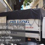 Taxi tải Hà Nội cho thuê giá rẻ tại phố Phạm Hồng Thái