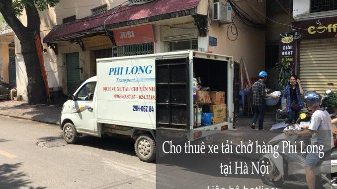 Cho thuê xe tải 1 tấn giá rẻ tại phố Nguyễn Chí Thanh