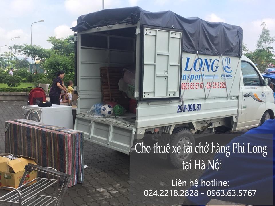 Dịch vụ thuê xe tải giá rẻ tại phố Trần Cao Vân