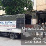 Dịch vụ thuê xe tải giá rẻ tại phố Lý Thái Tổ
