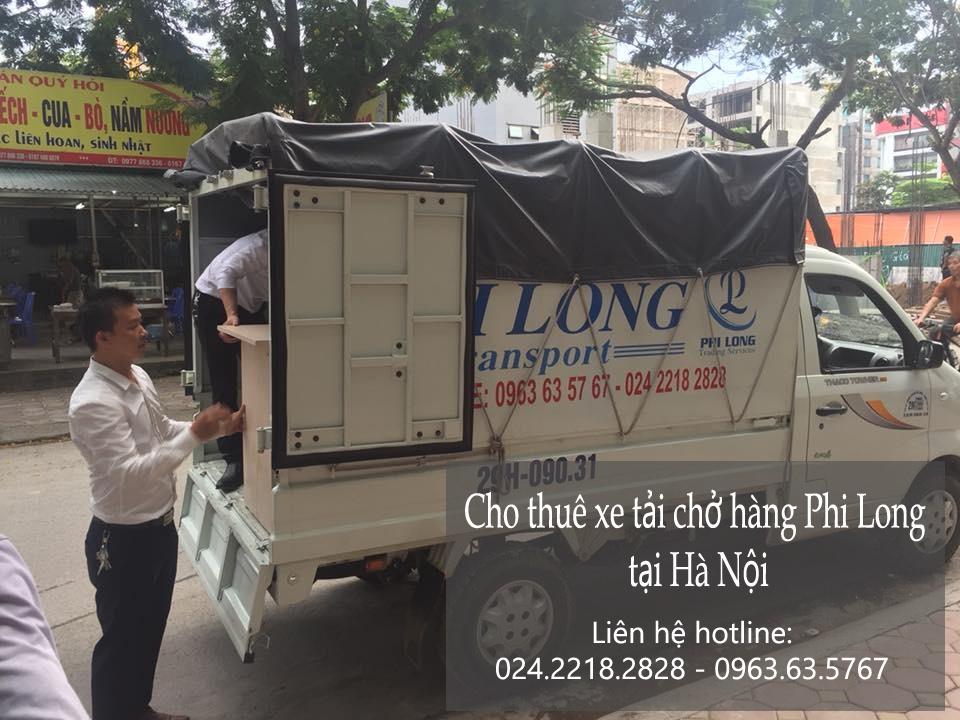 Dịch vụ cho thuê xe tải giá rẻ tại phố Đoàn Trần Nghiệp