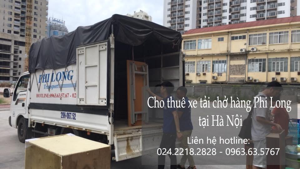 Cho thuê xe tải giá rẻ tại phố Nguyễn Duy Dương
