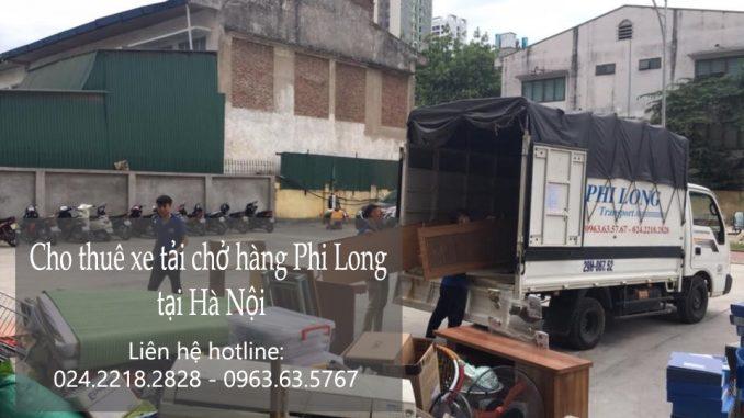 Cho thuê xe tải giá rẻ tại phố Phan Chu Trinh