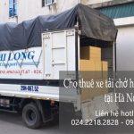 Dịch vụ thuê xe tải giá rẻ tại phố Khuyến Lương