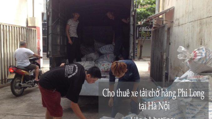 Cho thuê xe tải giá rẻ tại phố Đốc Ngữ
