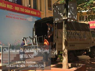 Cho thuê xe tải giá rẻ tại phố Việt Hưng