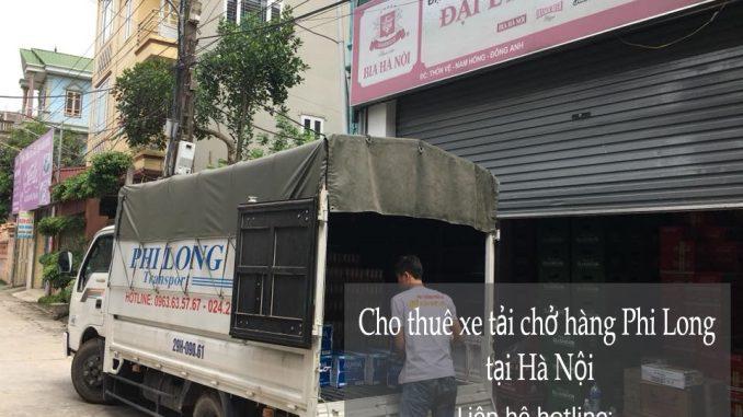 Dịch vụ thuê xe tải giá rẻ tại đường Đản Dị
