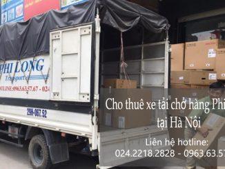 Cho thuê xe tải giá rẻ tại phố Hàng Trống