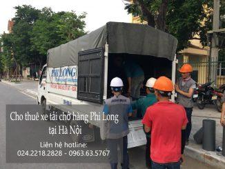 Cho thuê xe tải giá rẻ tại phố Gầm Cầu