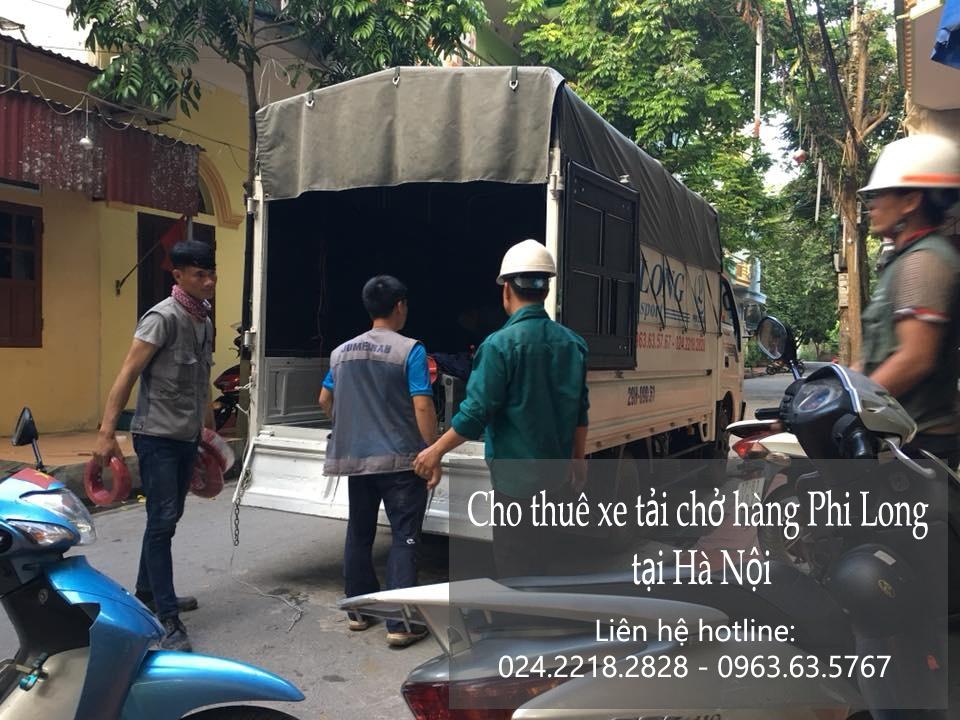 Dịch vụ thuê xe tải giá rẻ tại phố Vũ Tông Phan