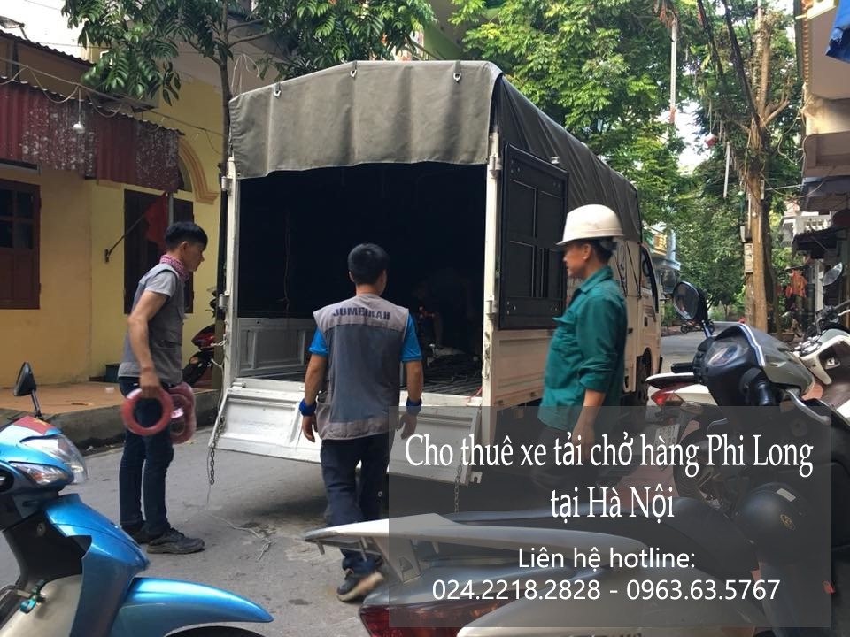 Dịch vụ thuê xe tải giá rẻ tại phố Nguyễn Như Đổ