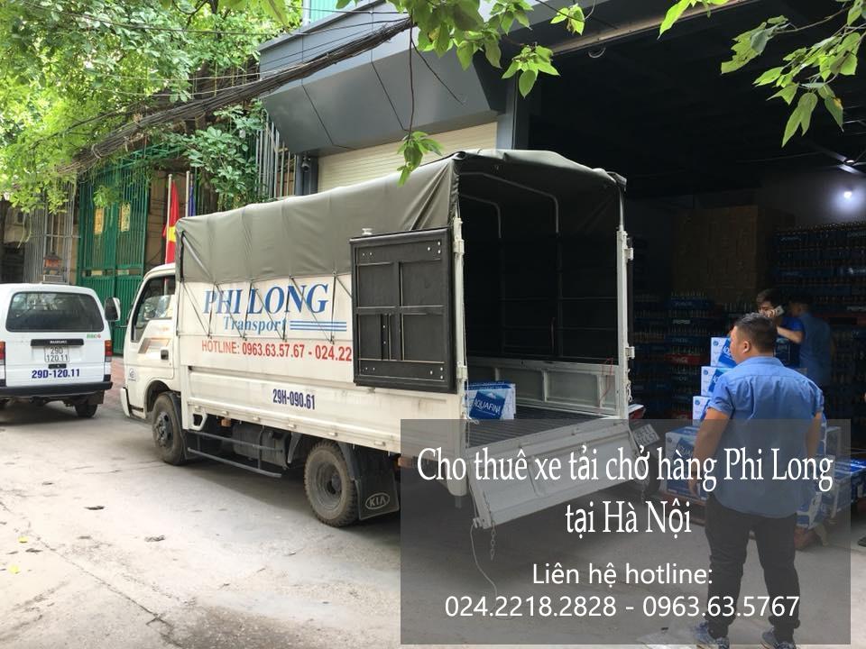 Dịch vụ cho thuê xe tải giá rẻ tại phố Láng Hạ