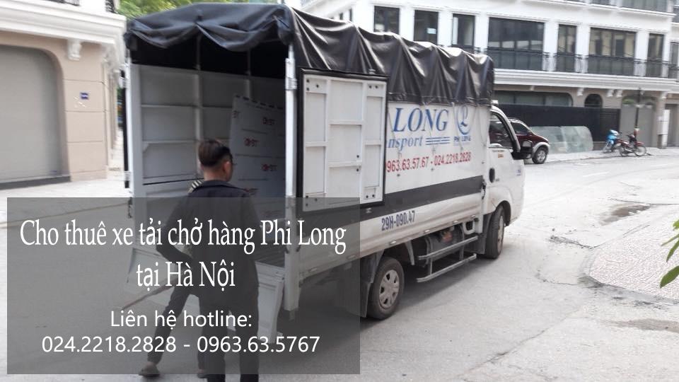 Dịch vụ cho thuê xe tải giá rẻ tại phố Bưởi