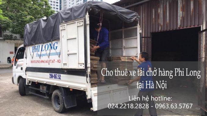 Cho thuê xe tải giá rẻ tại phố Chùa Bộc