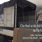 Thuê xe tải giá rẻ tại phố Ái Mộ