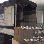 Cho thuê xe tải giá rẻ tại phố Phan Văn Đáng