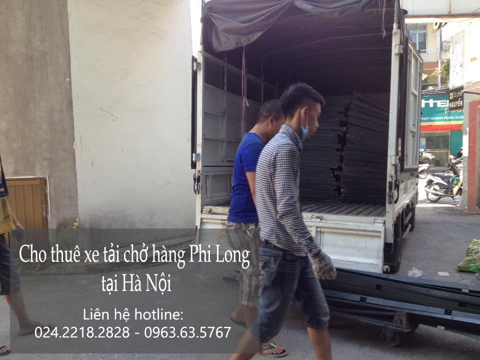 Dịch vụ cho thuê xe tải giá rẻ tại phố Phú Lương