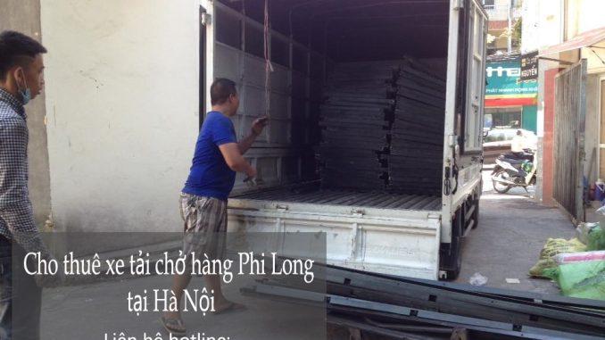 Cho thuê xe tải giá rẻ tại phố Phú Lãm