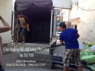 Dịch vụ cho thuê xe tải giá rẻ tại phố Trấn Vũ