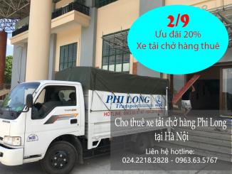 Giảm 20% khi thuê xe tải giá rẻ nhân ngày Quốc Khánh
